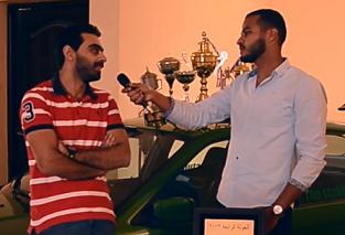 درفت السيارات - المذيع خالد عادل