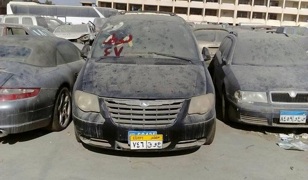 مزاد بيع السيارات المستع بمطار القاهرة -جيكس كارز Geeks Cars