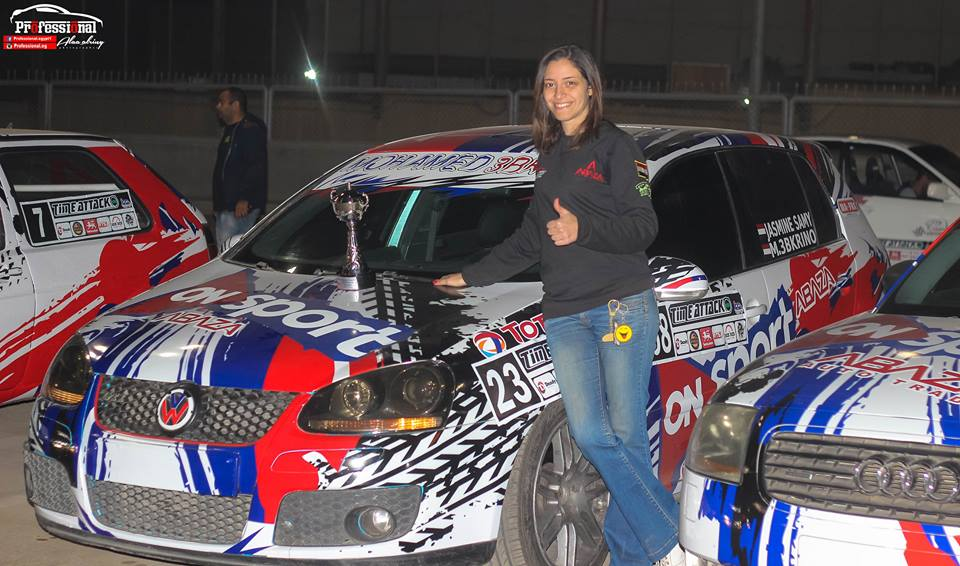 ياسمين سامى بطله رياضه سباق السيارات - موقع جيكس كارز