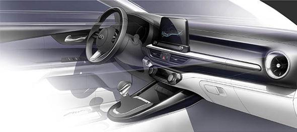 المقصورة الداخليه - Kia Cerato كيا سيراتو موديل 2018 - Geeks Cars
