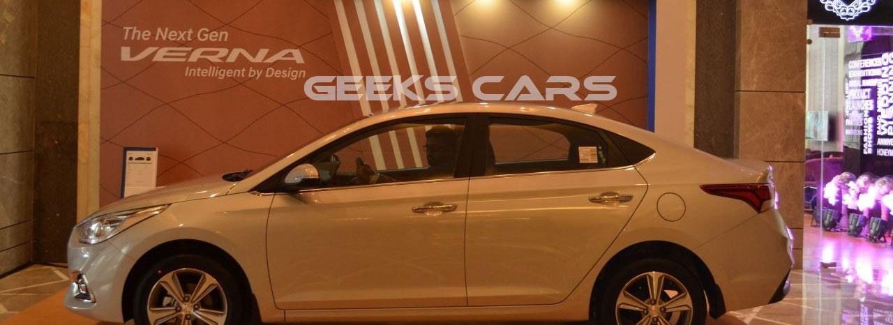 تقرير شامل عن هيونداى فيرنا Verna 2018  جيكس كارز Geeks Cars