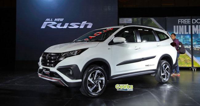 تقرير عن تويوتا راش Toyota Rush 2018