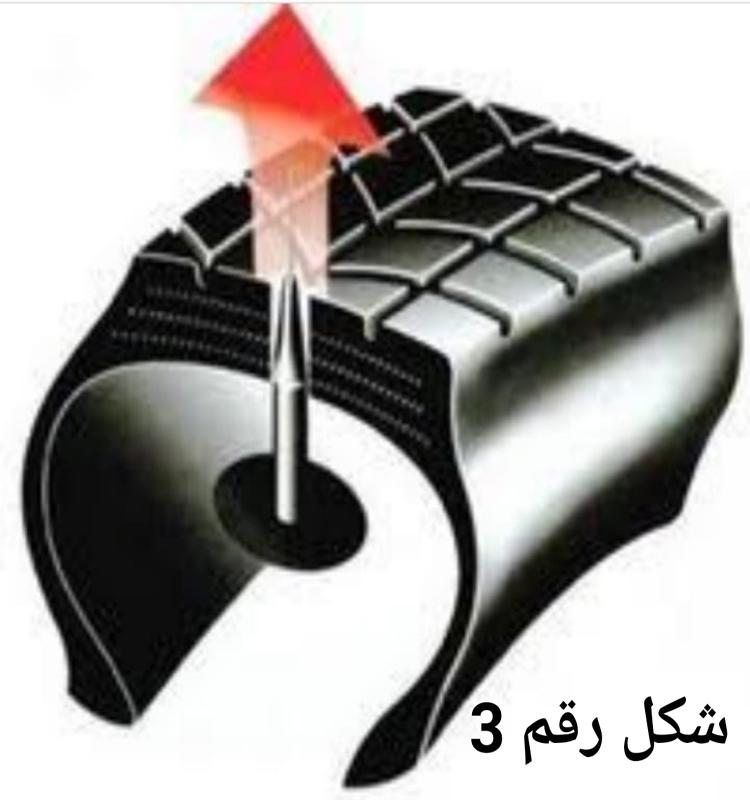 طريقه عيش الغراب لاصلاح اطارات السيارات
