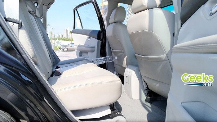 مواصفات ومميزات السيارة BYD s6 - المقاعد الخلفية