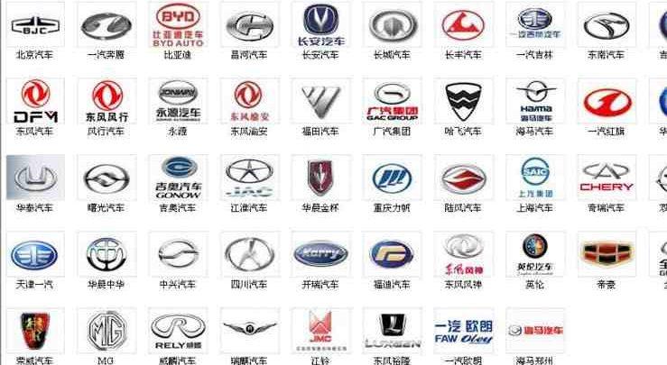 العلامات الصينيه للسيارات