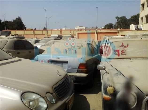 مزاد سيارات جمارك مطار القاهرة