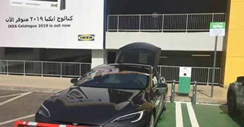 نقاط شحن السيارات الكهربائية