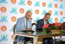 تعاون شل وريفولتا ايجيبت لتنفيذ نقاط شحن السيارات الكهربائية