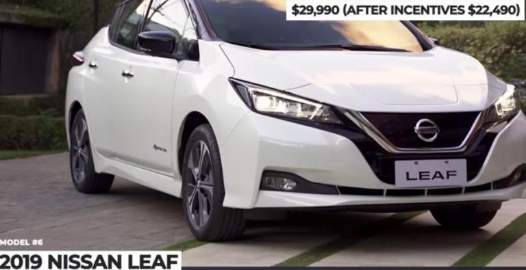 ارخص سيارات كهربائية 2020