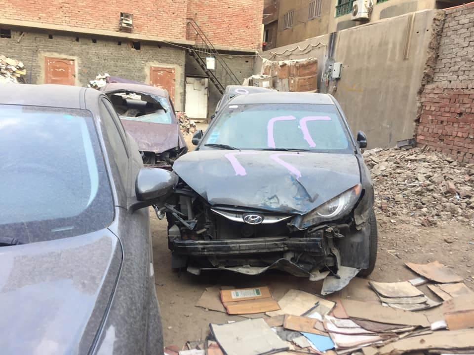 مزاد سيارات الحوادث