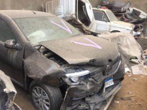 رينو مزاد سيارات الحوادث