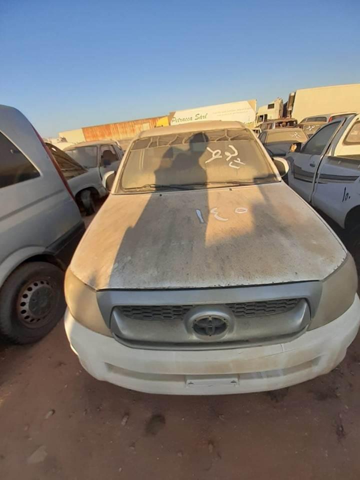 مزاد لبيع سيارات مستعمله بجمرك السلوم والدخيلة