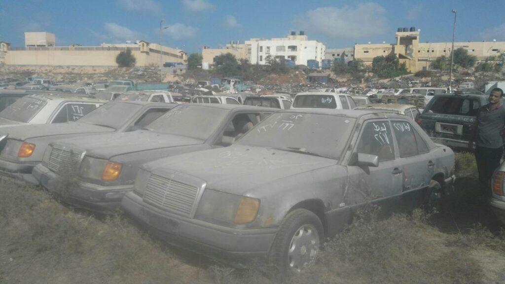 مزاد مضبوطات سيارات نيابة العريش