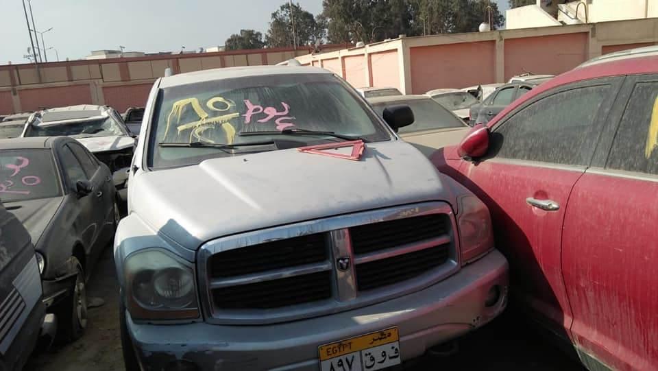 مزاد لبيع اكثر من 50 سيارة مستعملة
