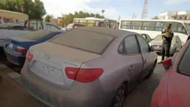 مزاد سيارات شرطة شرم الشيخ