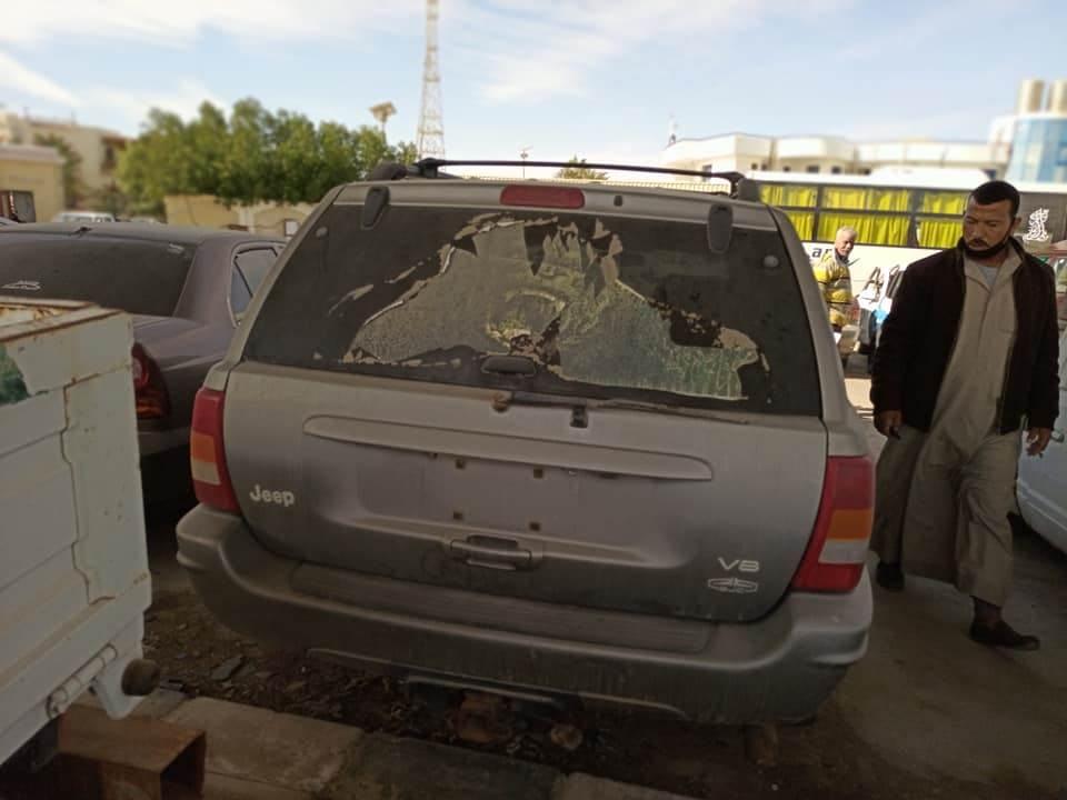 مزاد سيارات شرطة شرم الشيخ جنوب سيناء